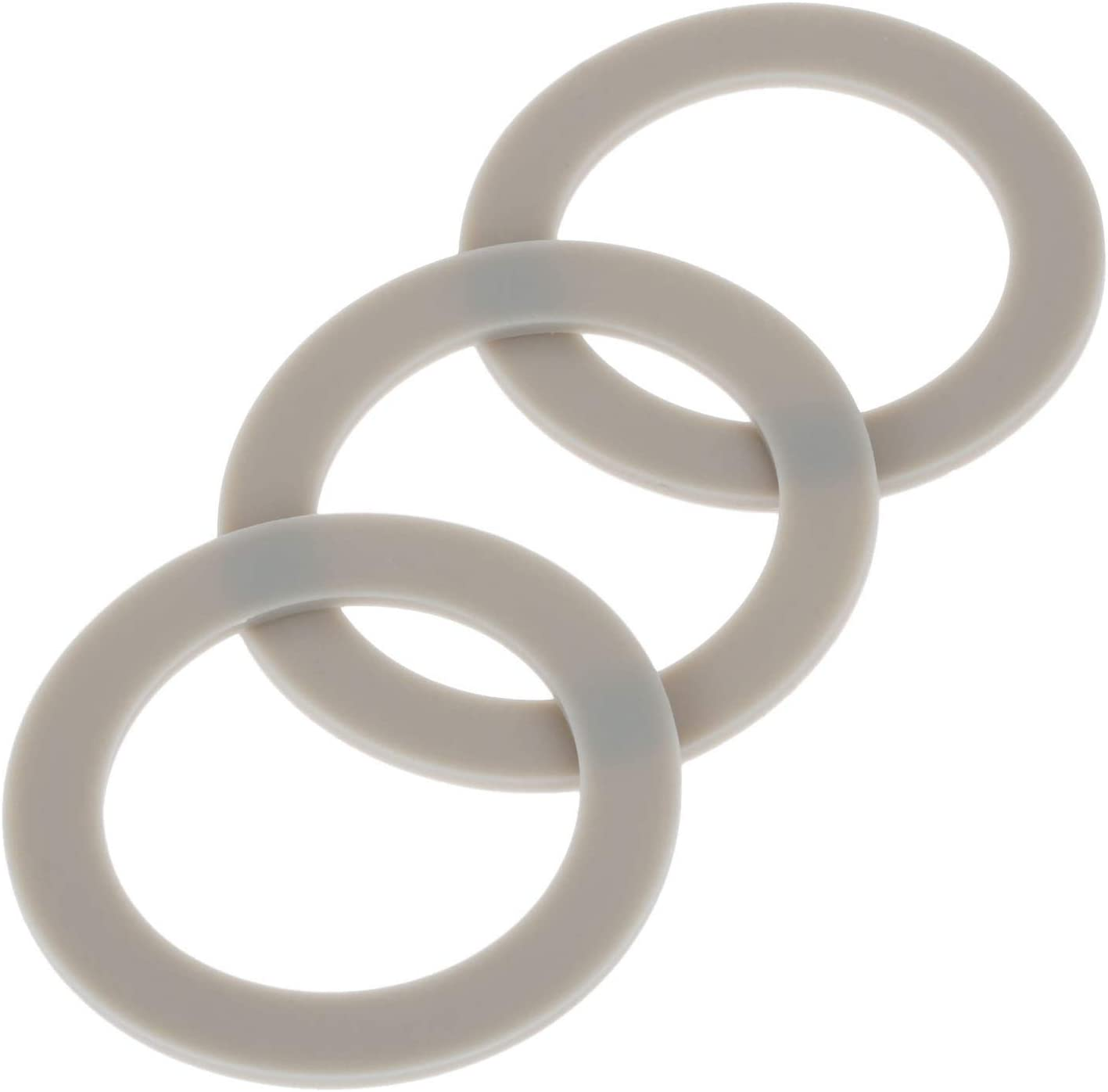 3Pcs Blender Rubber Gasket Sealing O-ring CUCB-456-3, Replacement for Cuisinart Blenders # BFP703 BFP-703 BFP703B BFP-703CH SPB-7 SPB7 SPB-7BK CB8 CB9 BFP-703