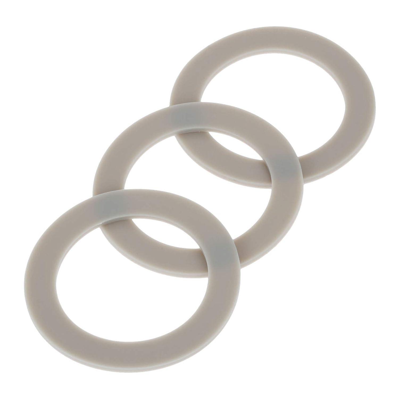 Dreld 3Pcs CUCB-456-3 Blender Rubber Sealing Gasket O-ring, Replacement Part Fit for Cuisinart Blenders Models # BFP703 BFP-703 BFP703B BFP-703CH SPB-7 SPB7 SPB-7BK CB8 CB9 BFP-703