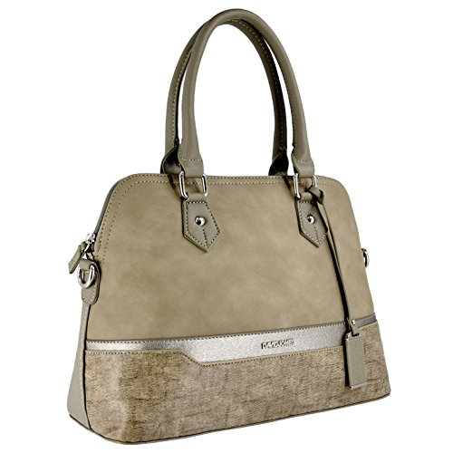 Women's David Bag Bugatti Faux Leather Suede Bowling Jones Satchel Green Pink City Rigid Bag Top Multicolor Nude Handbag Bag Style Classic Lady Elegant Glitter Modern Shoulder Handle Saffiano Olive ArqwAx5U