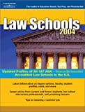 Law Schools 2004, Peterson's Guides Staff, 0768911613