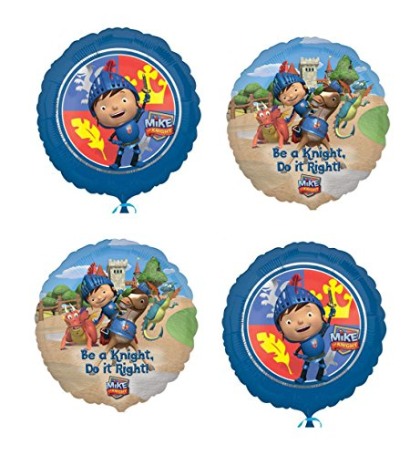 Mike the Knight - 4 Foil Balloons -