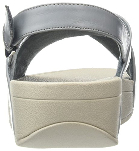 Aperta Fitflop Cross Donna Lulu 534 Sandali Strap Dove Leather Punta Blu Blue Back Sandals UpHU8B