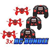 Envision 2.4GHz 4.5CH Camera RC Spy Drone 3-Pack Bundle