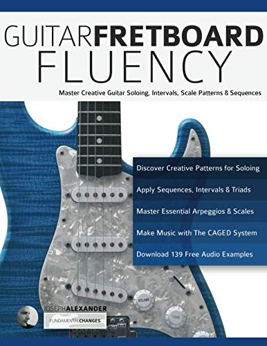 Guitar Fretboard Fluency: Master Creative Guitar Soloing, Intervals, Scale Patterns and Sequences (Guitar technique)