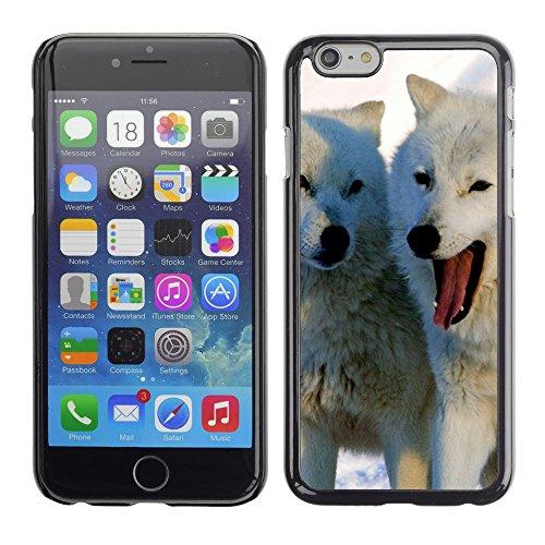 "Premio Sottile Slim Cassa Custodia Case Cover Shell // V00002877 loups arctiques // Apple iPhone 6 6S 6G 4.7"""