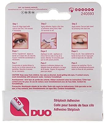 DUO Strip Lash Adhesive Dark Tone for False Strip Eyelash