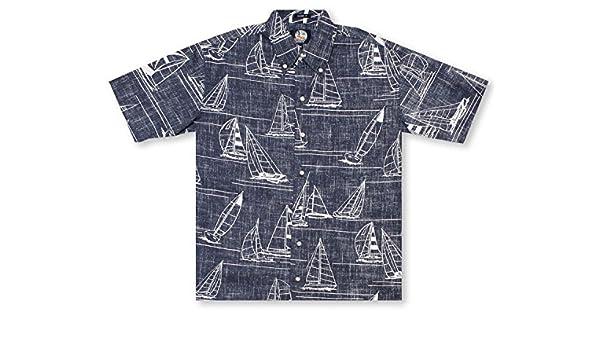 197b46758b6d Reyn Spooner Newport 2 Honolulu Hawaiian Shirt at Amazon Men s Clothing  store