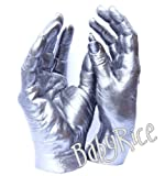 Adult 3D Handprint Hand Cast Life Casting Kit, Pewter - Wedding Anniversary Valentines Gift - by BabyRice