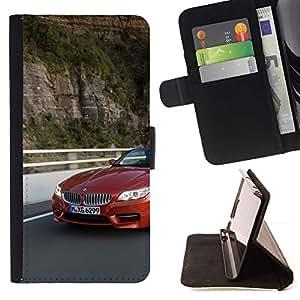 Momo Phone Case / Flip Funda de Cuero Case Cover - Z4 EN MOVIMIENTO - Samsung Galaxy S5 Mini, SM-G800