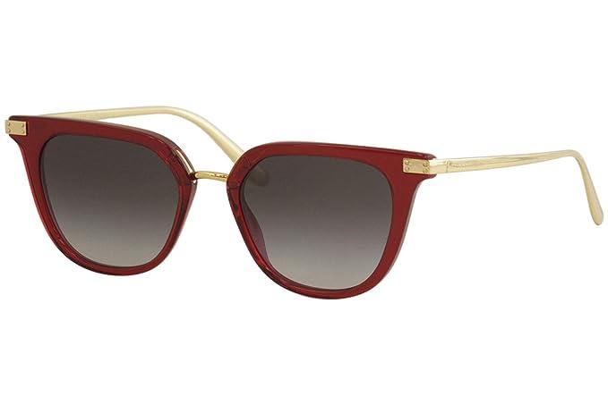 Ray-Ban 0DG4363 Gafas de Sol, Transparente Bordeaux, 50 para ...