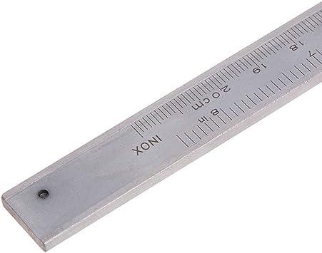 Dental Stainless Steel Sliding Gauge Vernier Caliper Measure Tool Ruler Diamond