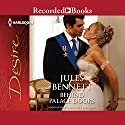 Behind Palace Doors Audiobook by Jules Bennett Narrated by Laurence Bouvard