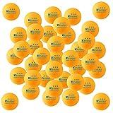50-Pack KEVENZ 3-Star 40mm Orange Table Tennis Balls,Advanced tournament Ping Pong Balls (Tournament ping-pong Ball) (Misc.)