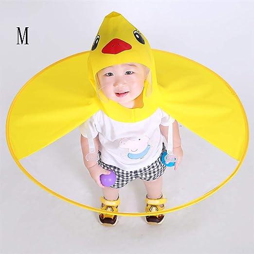 Duck Raincoat for niños Capa de Dibujos Animados for niños ...