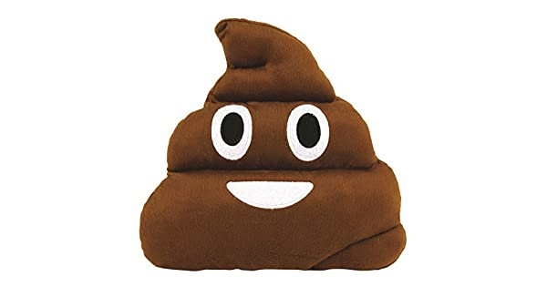 Amazon.com: weitengs Stuffed Cojín Emoji caca con forma de ...