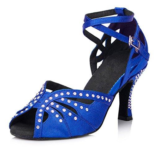 7 Blue Donna MGM Heel 5cm Sala Joymod vwxqUSPF1