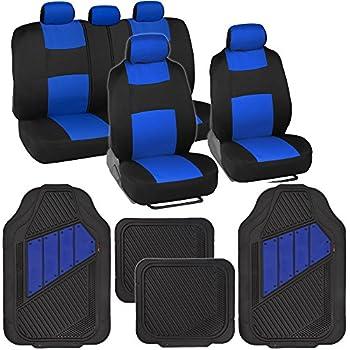 Amazon Com Bdk Two Tone Polycloth Car Seat Covers W Motor