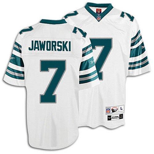 cdc7480e642 Reebok Philadelphia Eagles Ron Jaworski Premier Throwback Jersey Large