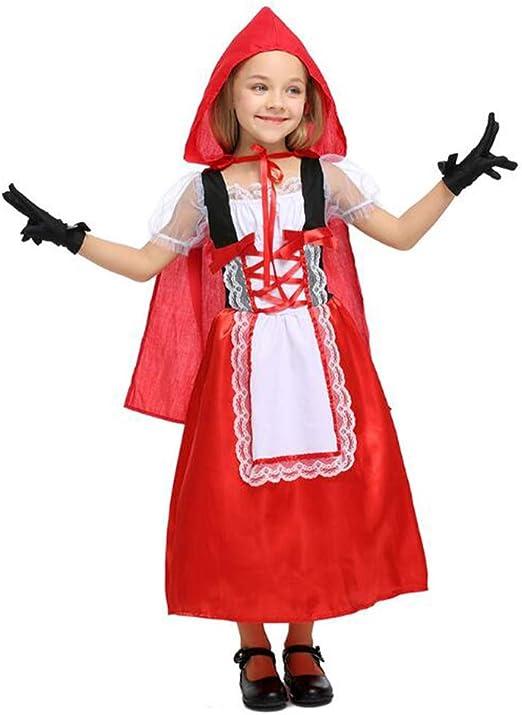 Vestido de Caperucita Roja Navidad Halloween Disfraces de Cosplay ...