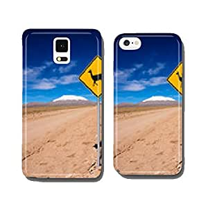 Llama road sign in Bolivia, South America cell phone cover case iPhone5