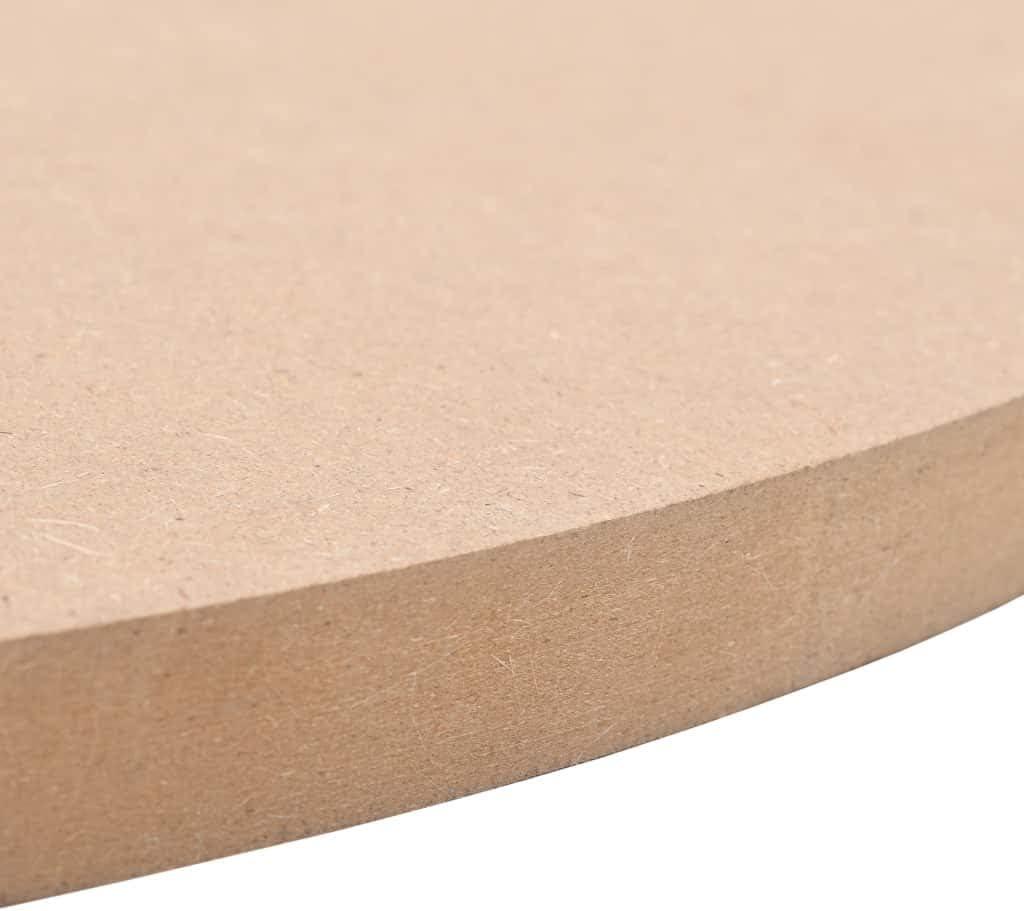 vidaXL Dessus de Table Rond MDF 300x18 mm Panneau Plaque Feuilles Contreplaqu/é