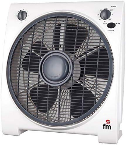 FM S0415655 Ventilador, 200 Decibeles, Blanco: Fm: Amazon.es: Hogar