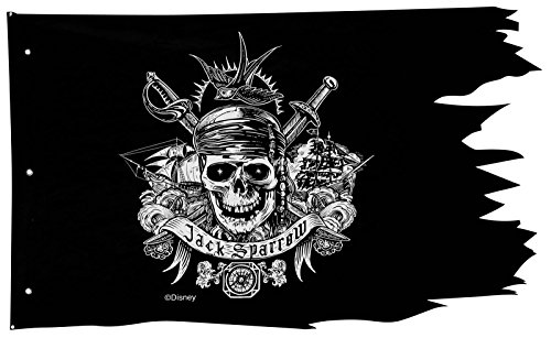 Disney Pirates of the Caribbean Pirate Flag Wall Decoration for $<!--$7.08-->
