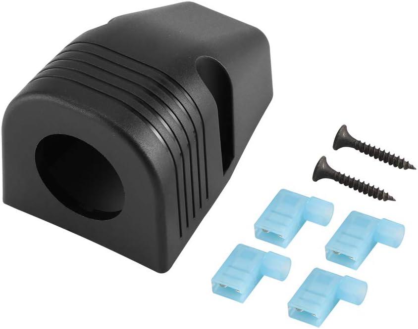 OurLeeme /Étanche Port Unique Allume-Cigare Socket Splitter Chargeur Tableau de Bord Montage Chargeur Adaptateur pour Voiture Bateau Marine Camion