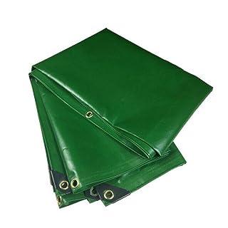 Duo Materiale Spesso Resistente, Impermeabile, Ideale per tettuccio in Tela Cerata, Copertura per Barca, Camper o Piscina -0,4mm-500g / m² (Dimensioni : 4mx8m)