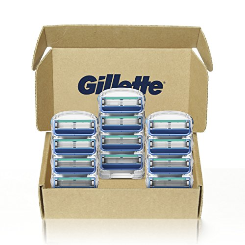 Gillette 5 Men's Razor Blade Refills, 12 Count