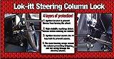 1clickautoacc P250 Lok-Itt Steering Column Lock