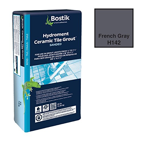 BOSTIK 25# DRY SANDED GROUT-FRENCH GRAY (Gray Sanded Grout)