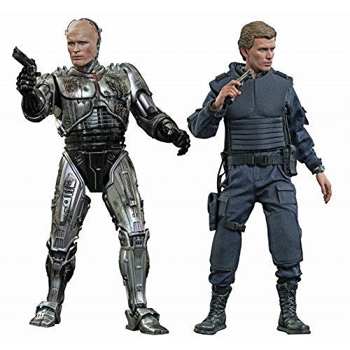 Robocop Movie Masterpiece Battle-Damaged Robocop & Alex Murphy 1:6 Diecast Figure