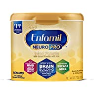 Enfamil NeuroPro Infant Formula - Brain Building Nutrition Inspired by Breast Milk - Reusable Powder Tub, 20.7 oz (Packaging May Vary)