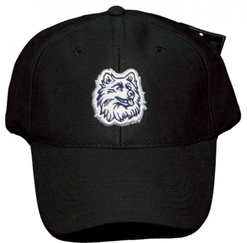 NEW!! Connecticut Huskies Adjustable Back Embroidered Cap - Black - UCONN