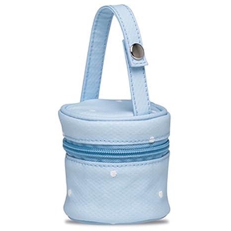 Portachupetes Dots Azul Bimbi Dreams: Amazon.es: Bebé