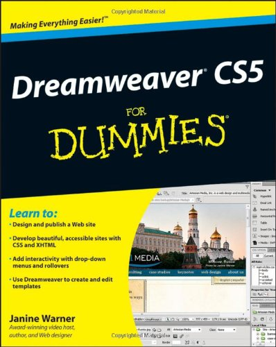 Dreamweaver CS5 For Dummies by Janine Warner, For Dummies