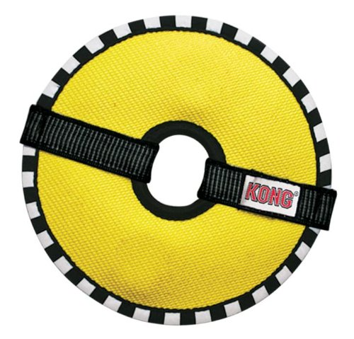 Ballistic Material (KONG Fire Hose Ballistic Ring Toy for Dogs, Medium)