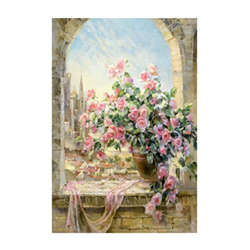 - Gotd 5D Embroidery Paintings Rhinestone Pasted DIY Diamond painting Cross Stitch (Style 7)