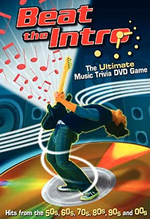 Amazon com: Beat the Intro - The Ultimate Music Trivia DVD Game