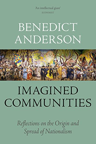 Book cover from Imagined Communities: Reflections on the Origin and Spread of Nationalism by Benedict Anderson