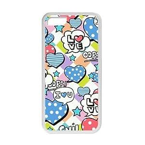 Welcome!Iphone 5C Cases-Brand New Design Cute Unique Graffiti Printed High Quality TPU For Iphone 5C 4 Inch -02 WANGJING JINDA