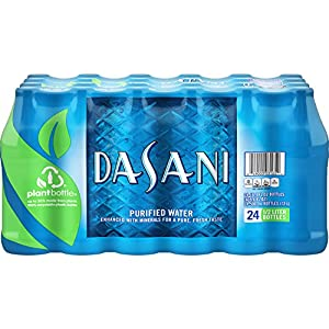 DASANI water, 16.9 fl oz, 24 Count