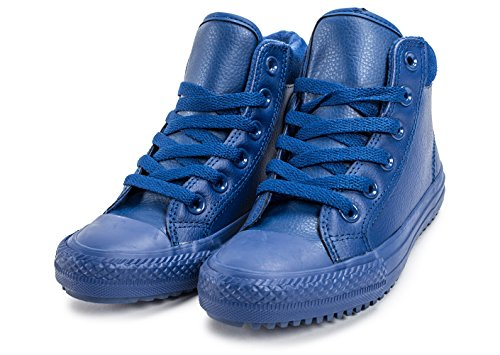 All Chuck Boots Star Junior Obsidian Black Blue Weatherized Ankle Converse Taylor Leather 7AgqE7w