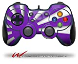 Rising Sun Japanese Flag Purple - Decal Style Skin fits Logitech F310 Gamepad Controller (CONTROLLER SOLD SEPARATELY)
