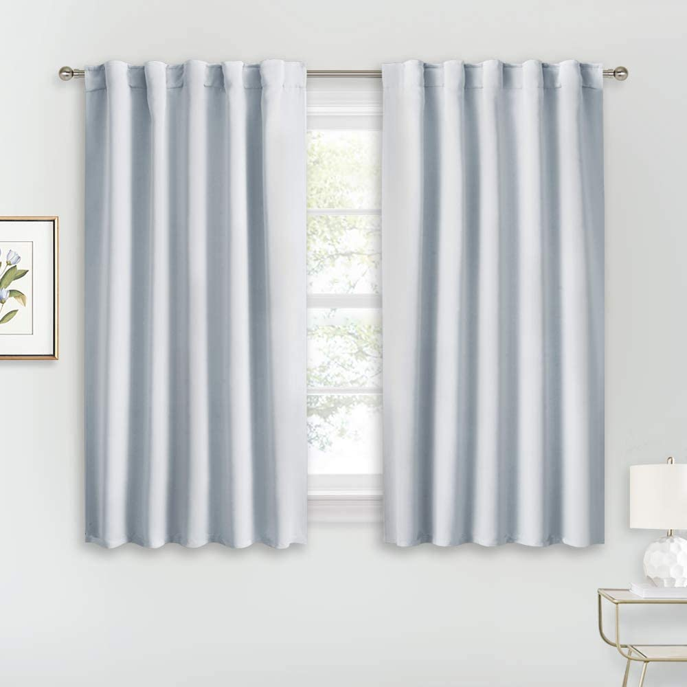 full-window cafe curtains for kitchen windows