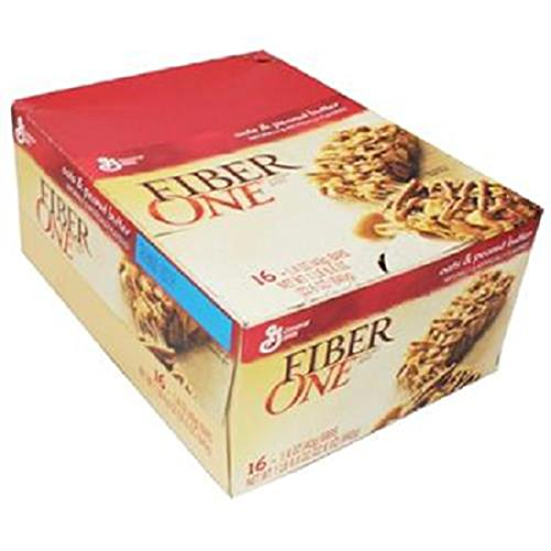 Product Of Fiber One Chewy Bar, Oat & Peanut Butter, Count 16 (1.4 oz) - Granola/Cereal/Oat/Brkfast Bar / Grab Varieties & Flavors (Oats Fiber One)