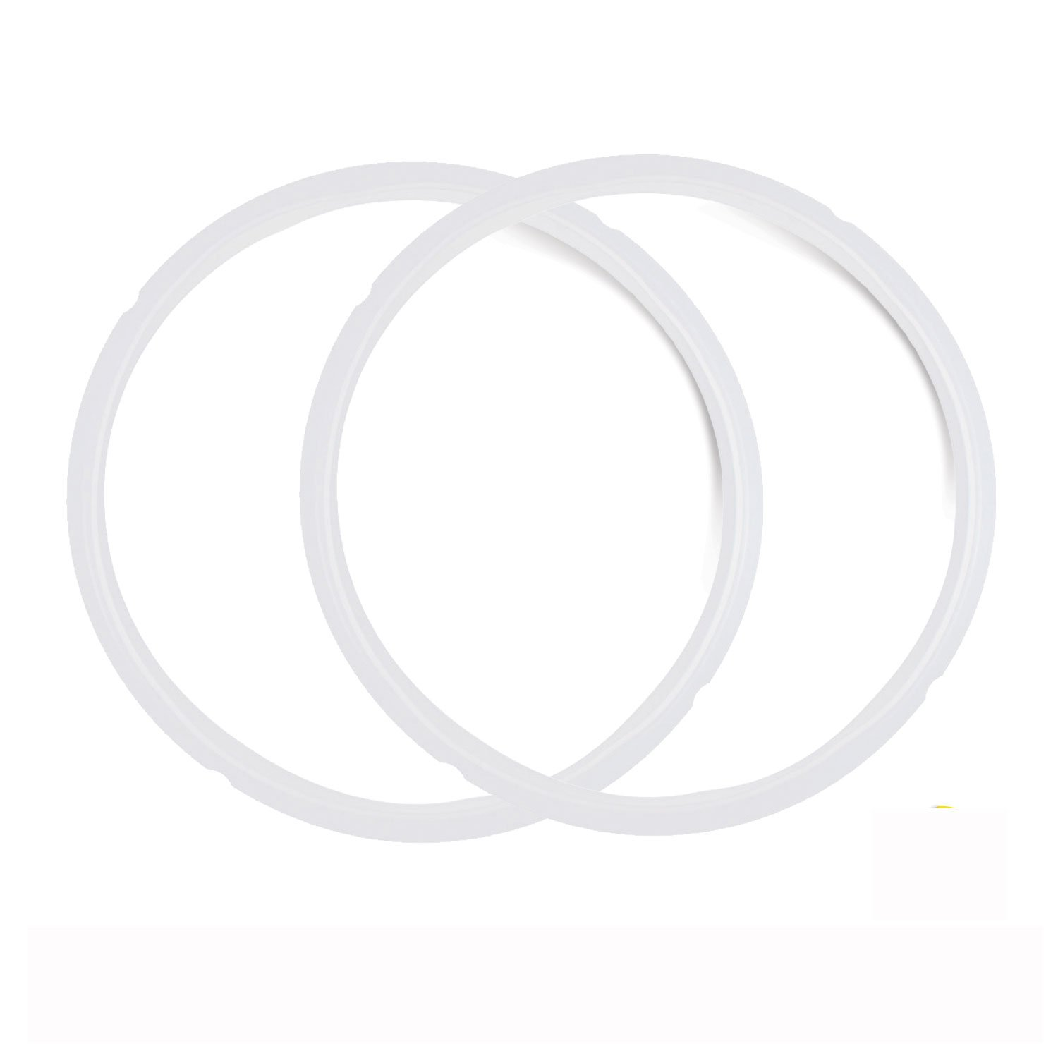 Pack of 2 Silicone Sealing Rings for Instant Pot 5 & 6 Quart - Fits IP-DUO60, IP-LUX60, IP-DUO50, IP-LUX50, Smart-60, IP-CSG60 and IP-CSG50