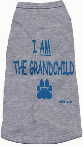 Kool Tees I Am the Grandchild Dog Tee, Large, My Pet Supplies