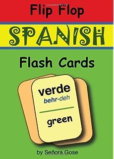 Flip Flop Spanish Flash Cards: Verde (Cards)